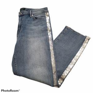Lauren Ralph Lauren high rise straight ankle jeans